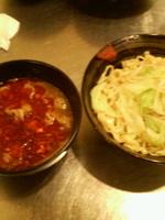 「紅つけ麺(夏期限定)850円」@麺創研 紅 府中の写真