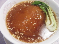 「ふかひれスープ麺1980円」@チャイナハウス 桂花楼の写真
