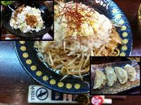 「焼きじろう+マシマシ+α」@つけ麺 もといしの写真