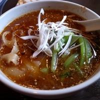 「黒豚担々麺 750円」@長安ピカイチの写真