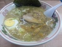 「ラーメン (玉子1個入り)¥800」@白山ラーメンの写真