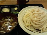 「とり汁うどん+大盛(1.5人前)」@夢茶房の写真