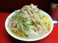 「大ラーメン 野菜ニンニクアブラ」@ラーメン二郎 桜台駅前店の写真