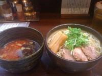 「辛つけ麺」@つけ麺 もといしの写真