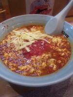 「タンタンメン+トマトチーズ900円」@元祖ニュータンタンメン本舗 尻手店の写真