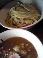 「味玉つけ麺¥850+大盛券¥50」@つけめんTETSU 千駄木本店の写真