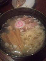 「塩らーめん(ハーフ)」@つけ麺 もといしの写真