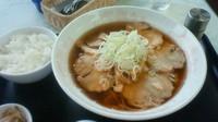 「手作り焼豚麺¥850」@霞ガーデンの写真