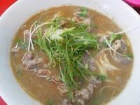 「牛肉ラーメン¥750」@ラーメン金太の写真