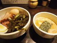 「特製つけ麺」@麺専門店 つけ麺屋ちっちょの写真