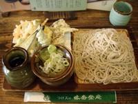 「野菜つけ天 900円」@そば処 味奈登庵 本店の写真
