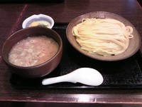「とろろ山芋つけめん930円」@三ツ矢堂製麺 武蔵小山店の写真