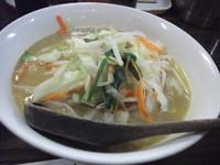 「味噌拉麺+炙り丼セット」@ふうふう亭の写真