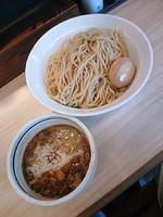 「泡つけ麺750円+味玉(メルマガサービス)」@つけ麺 麺也 時しらずの写真
