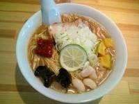「Indian Ramen醤油650円」@麺や のかぜの写真