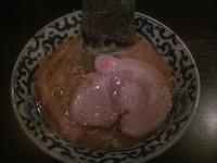 「らー麺 750円」@東京駅 斑鳩の写真