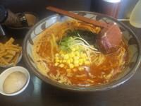 「(太麺) 爆発 ¥870」@味噌一 一之江店の写真