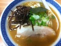 「お魚とんこつらぁめん¥700→¥500(TJクーポン)」@景勝軒 西片貝店の写真