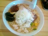 「Indian Ramen 味噌700円」@麺や のかぜの写真