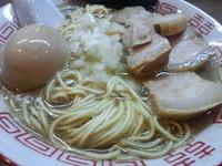 「煮干しソバ(夜限定)+豚増し+味玉」@中華ソバ 伊吹の写真