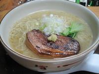 「淡塩(たんしお)土日限定 700円」@カフェバールナ 麺の部の写真