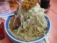 「獅子ふじ麺700円→500円(麺200g、チャーシュー1枚)」@獅子王の写真