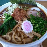 「豚骨辛味噌ラーメン (メチャ辛) 1,000円」@MENYA 食い味の道有楽の写真