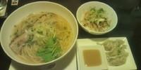 「塩そば」@らぁ麺三軒屋 岬本店の写真
