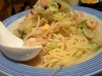 「野菜たっぷりちゃんぽん(野菜2倍) 690円」@長崎ちゃんぽん リンガーハット イオン伊丹昆陽店の写真