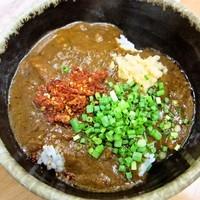 「(ミニ)カレーライス【サービス】」@MENYA 食い味の道有楽の写真