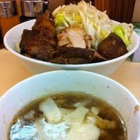 「豚骨魚介つけ麺(¥730)」@自家製ラーメン 大者の写真