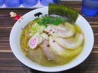 「煮干し塩チャーシュー」@ラーメン人生 JET 福島本店の写真