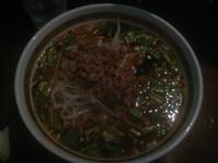 「台湾タンタン麺 830円(クーポンで420円)」@茶藝庭の写真