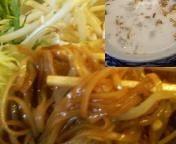 「汁なしそば 650円」@タイ国料理 ラカントーンの写真