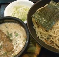 「信長つけ麺+ネギ」@らーめん信長 長野店の写真