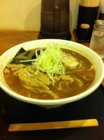 「中華そば・太麺(大盛/油抜き)+穂先メンマ」@くりの木 加須店の写真