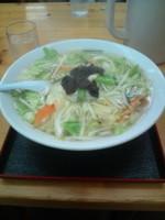「タンメン(600円)+餃子(300円)」@大三元の写真