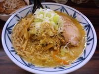 「味噌ラーメン(大盛)」@札幌 味噌や 元住吉店の写真