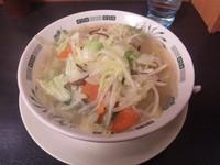 「野菜たっぷりタンメン 490円」@日高屋 与野駅東口店の写真