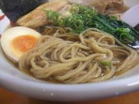 「正油らーめん(580円)」@麺や卯の写真