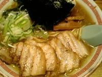 「特製中華そば 中盛り(950円)」@松戸中華そば 富田食堂の写真