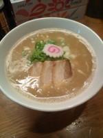 「濃厚煮干し蕎麦 大盛り(780円)」@月と鼈の写真