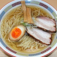 「塩らーめん(680円)」@煮干鰮らーめん 圓の写真