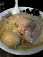 「ラーメン¥700+味玉¥100」@らーめん るどるふの写真