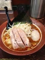 「赤辣麺(細麺)800円」@豚骨醤油らーめん 誠屋 八幡山本店の写真