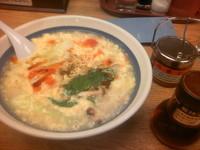 「酸辣湯麺 714円」@8番らーめん 黒瀬店の写真