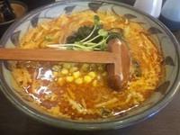 「(太麺) 火吹 ¥820」@味噌一 一之江店の写真