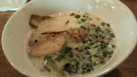 「豚麺2号」@仙川らーめん ばかたれの写真