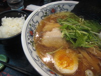 「煮干しラーメン」@にぼらや 西銀座通り店の写真