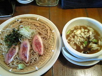 「鴨つけ 950円」@麺づくり 蒼空 本店の写真